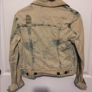 Free People Jackets & Coats - Free People Acid Wash Jacket - excellent condition